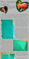Sewingstuck - Leggings Tutorial 01 by Mostflogged