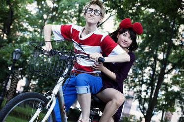 Kiki and Tombo - Kiki's Delivery Service by Mostflogged