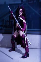 Huntress - DC Comics by Mostflogged