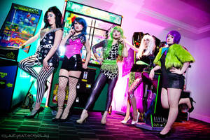 The Misfits - Jem and the Holograms by Mostflogged