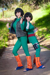 GAI SENSEI AND ROCK LEE - NARUTO by Mostflogged