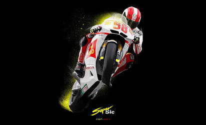 Marco Simoncelli 1987-2011 by meak-one