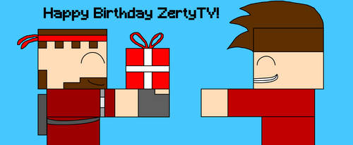 Happy Birthday ZertyTV! by alexandersupremo