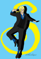 Sanji-The Cook by Blackqueer