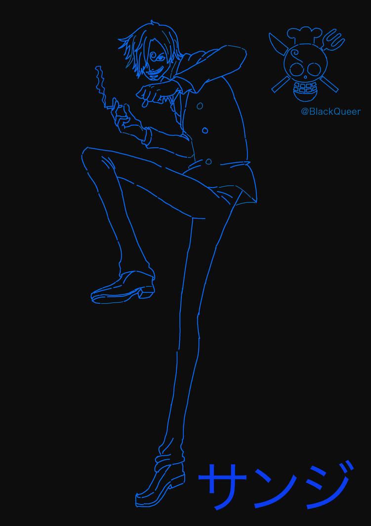 Sanji by Blackqueer