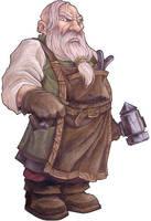 Dwarf Alchemist by Serg-Natos
