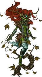 Forester Elf's Shaman by Serg-Natos
