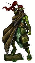 Forester Elf's Archer by Serg-Natos
