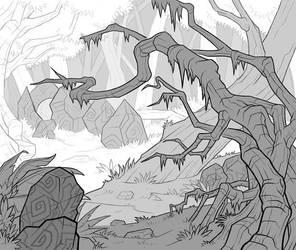 Vrink Forest by Serg-Natos