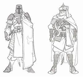 Knights by Serg-Natos