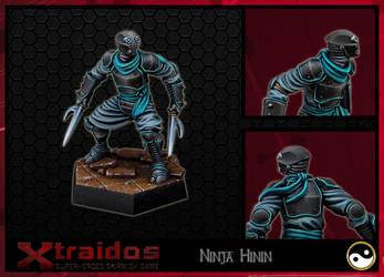 Ninja Hinin - XTRAIDOS by Serg-Natos
