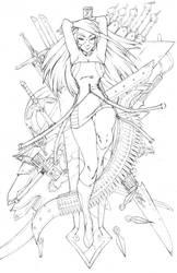 Lady Gilgamesh by Robaato