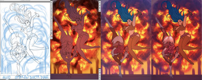 A Dirty Pair of a Preview by Robaato