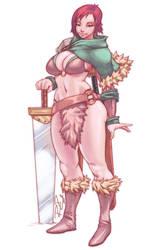 RPG-4-Melandrhild by Robaato