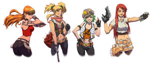 The Gals to Go To by Robaato