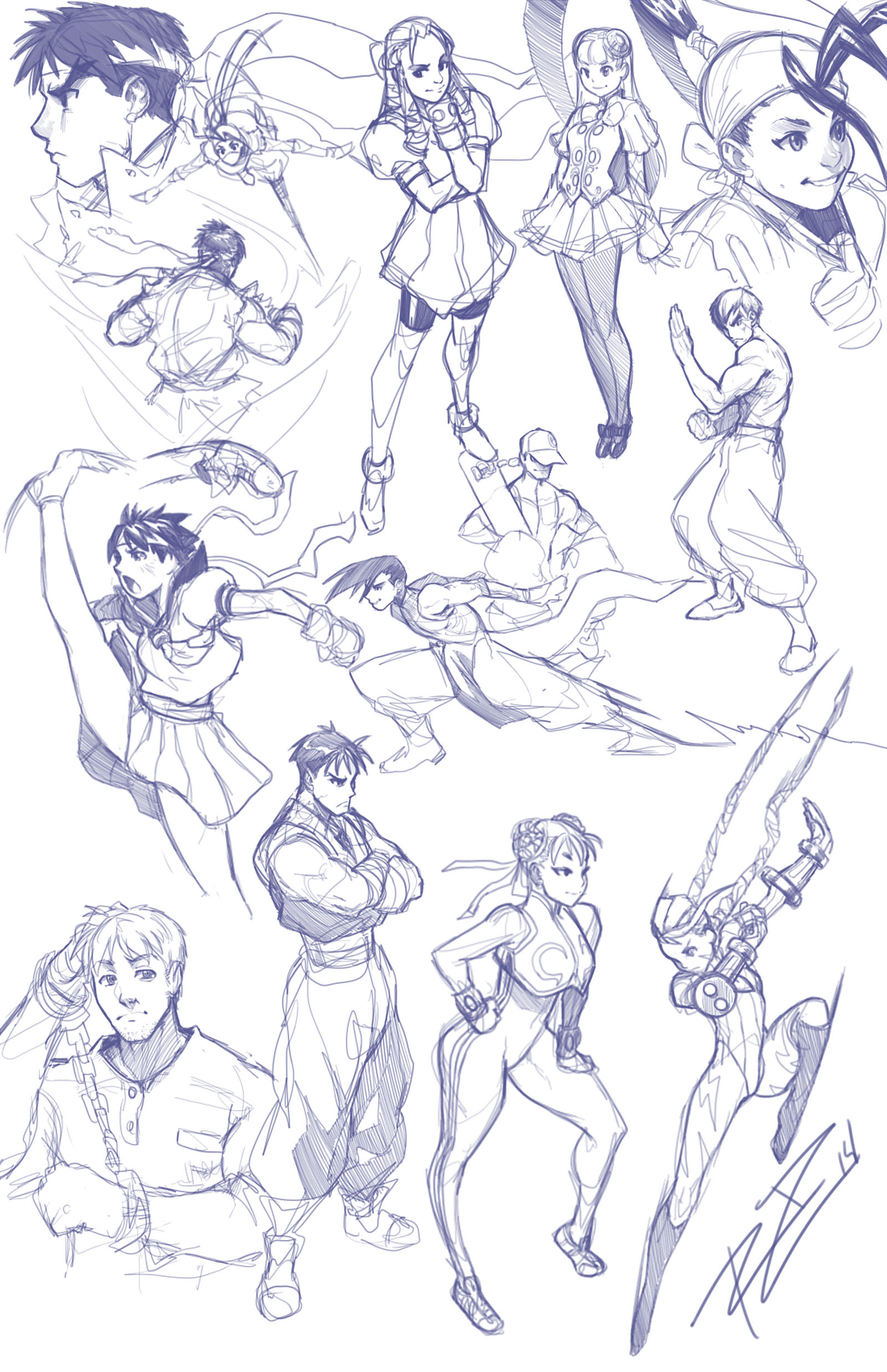 Street Fighter Medley 14-1-16 by Robaato