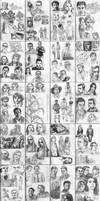An Entire Sketchbook v2, 2o2 by mleiv