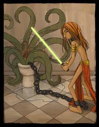 Toilet Genie + Toilet Sarlacc by mleiv