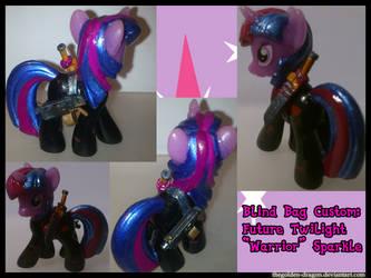 Future Twilight Warrior Sparkle by TheGolden-Dragon