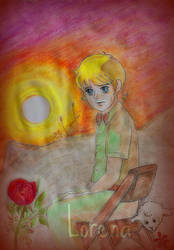 Anthony as the Little Prince by lovesonnetxvii