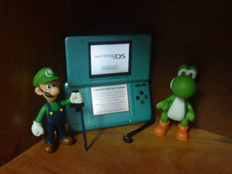 Luigi and Yoshi DS by TheEdux98