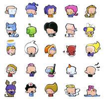 characters by icanseeyourmonkey