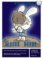 Intergalanimals Major Bunny by icanseeyourmonkey