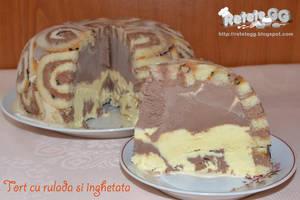 Ice cream roll cake by DanutzaP
