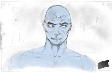 Dr. Manhattan corrected by ajha100