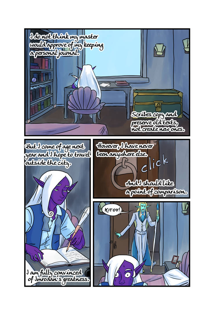 Crypts and Cantrips page 2 by kytri