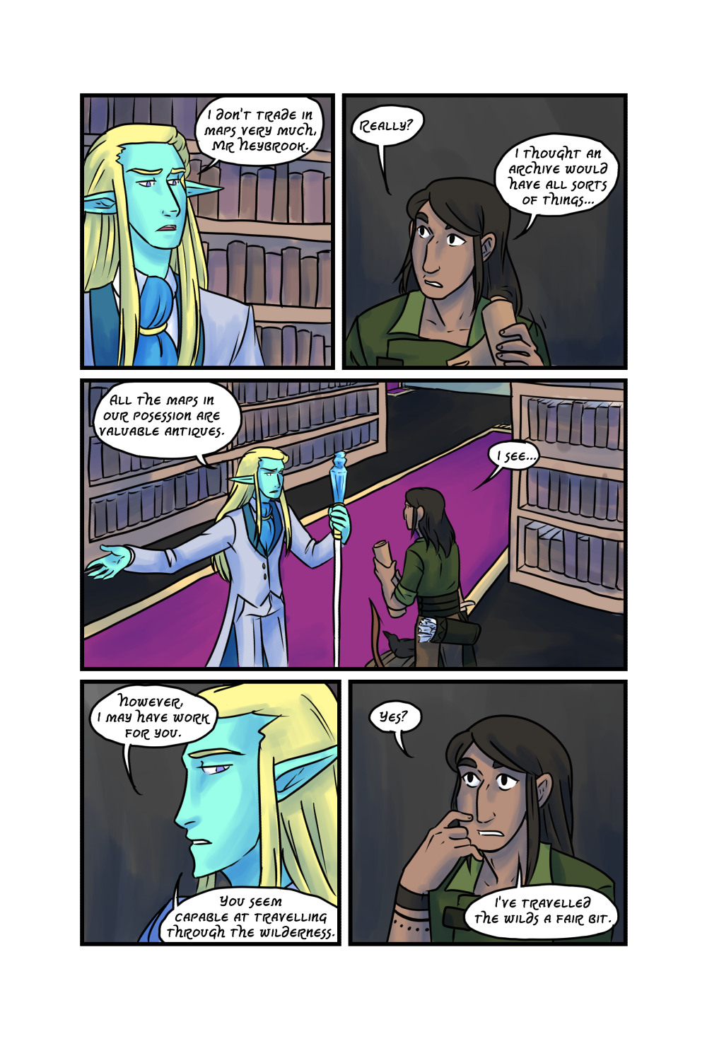 Crypts and Cantrips page 15 by kytri