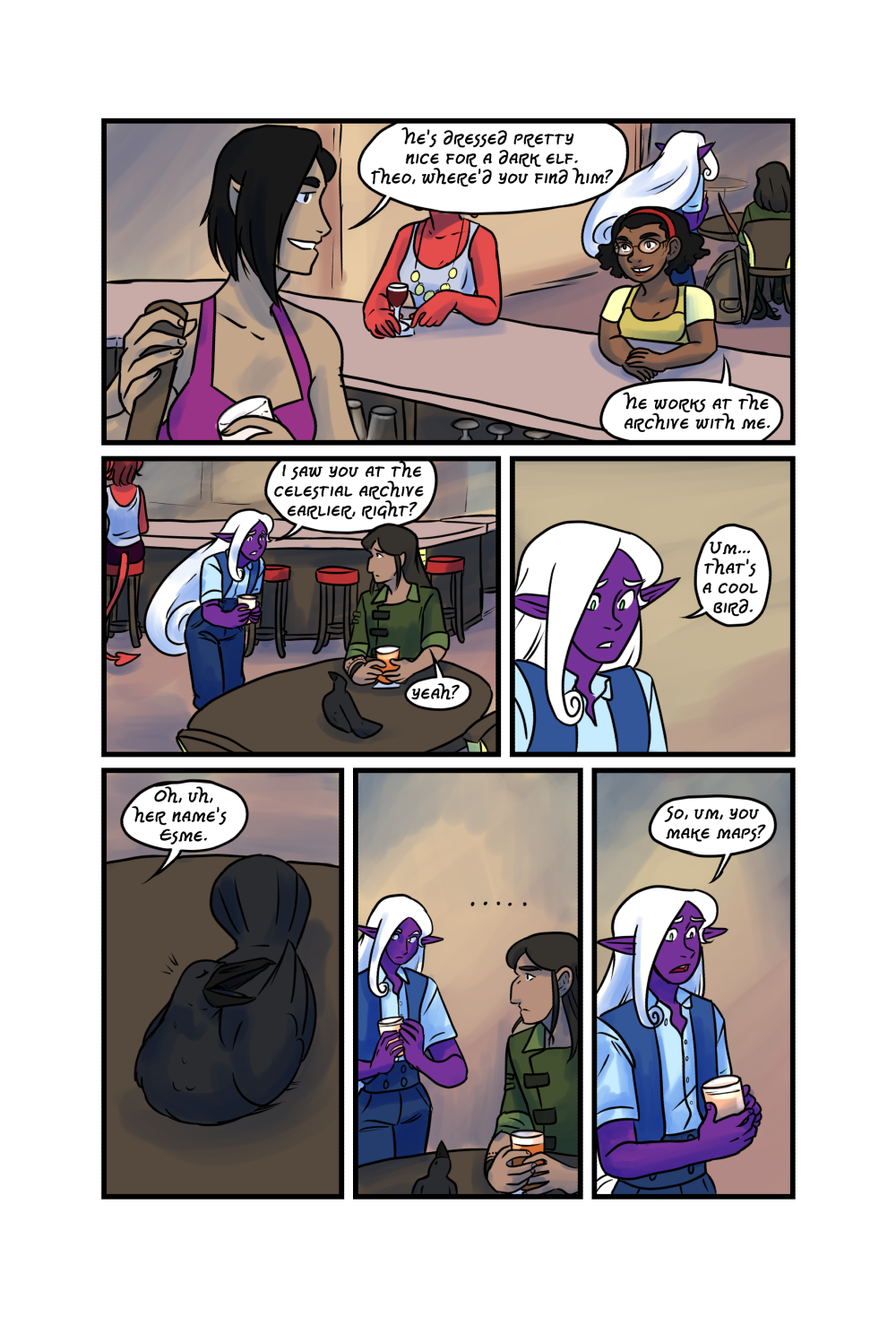 Crypts and Cantrips Page 28 by kytri