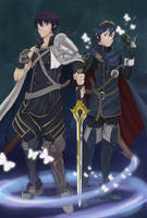 CHROM AND  LUCINA by cincin82