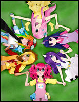 ~MLP~Circle of Friends by CactusBunny