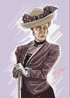Dowager Countess by mDiMotta