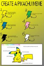 Pikachu meme by Gun-Del-Sol18