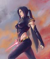 Psylocke by DavidPan