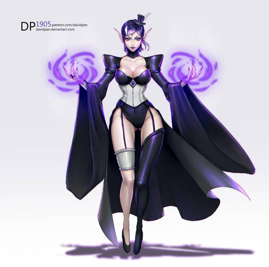 [Full Body Commission] Janelle by DavidPan