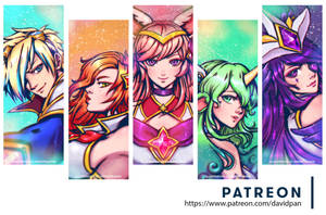 The new star guardians by DavidPan