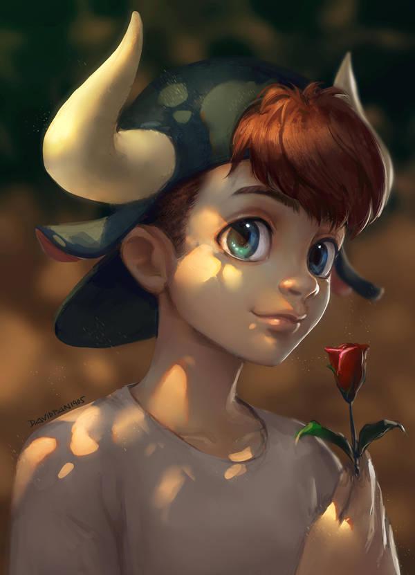 Ferdinand the Flower Bull by DavidPan