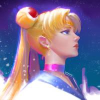 Sailor Moon by DavidPan