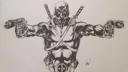 Deadpool by mcvicker35