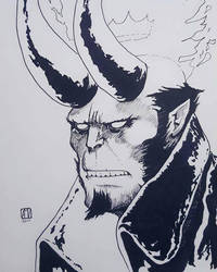 Hellboy by mcvicker35
