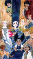 Detail: Tales from Children Around the World by mizu-shimma