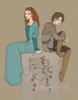 The Stark Sisters by Algesiras