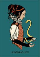 Serpent d'or by Algesiras