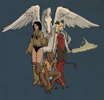 New Mutants by Algesiras