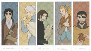 Swordspoint characters by Algesiras