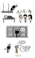 Pet Wendigo strip 6 - Team Science by Algesiras
