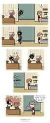 Pet Wendigo strip 26 - Cooking lesson by Algesiras